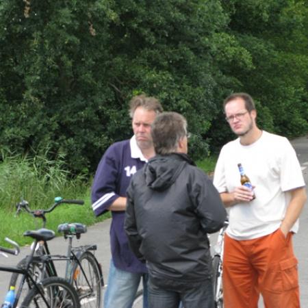 CDU - Fahrradtour am 13.Juli 2008