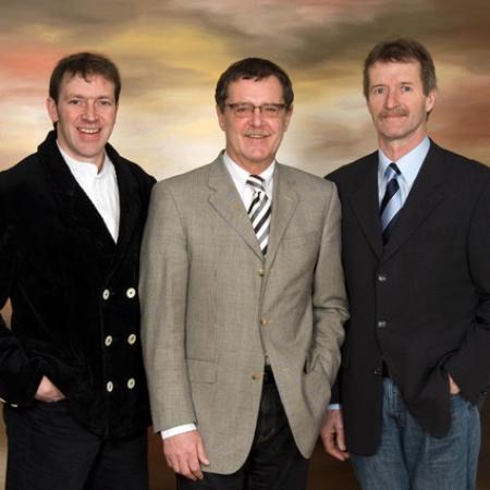 Jochen Claussen, Karsten Jasper und Manfred Dahl